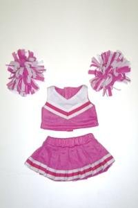 Pink Cheerleading Outfit