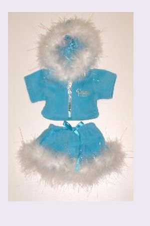Blue Princess Sparkle Outfit