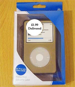 Silicone Case for 60GB iPod Video (5G)