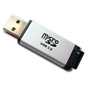 USB Reader for Micro SD / Micro SDHC Memory Cards