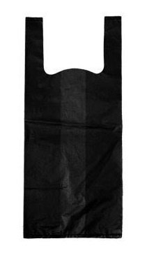 1000 Dog Poop Bags with Handles (BLACK)