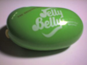 Jelly Belly Beans Container (Light Green)