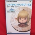 Final Fantasy XI guild masters guide book
