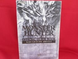 Monster Hunter Portable official complete guide book /PSP