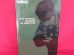 METAL GEAR SOLID 3 Snake Eater master guide book /Playstation 2, PS2