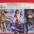 Final Fantasy X-2 visual art collection CG illustration works book