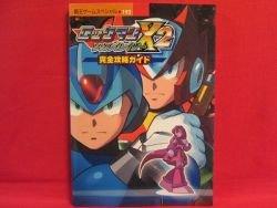 Mega Man X2 Soul Eraser perfect strategy guide book / GB COLOR