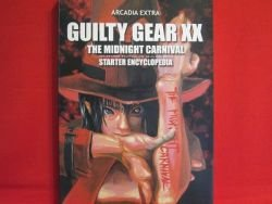 GUILTY GEAR XX The Midnight Carnival starter encyclopedia w/CD