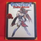 GUILTY GEAR X drafting artworks book / Playstation 2, PS2