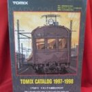 7021 TOMIX N Gauge N Scale Train catalog book 1997 - 1998