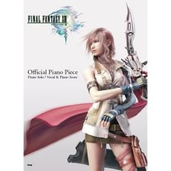 Final Fantasy XIII 13 Official Piano Sheet Music Book / Playstation3, XBOX360