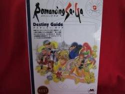 Romancing SaGa strategy destiny guide book