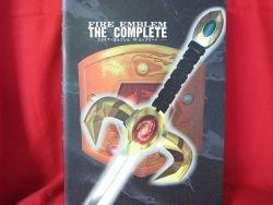 FIRE EMBLEM the complete visual art book / Super Nintendo, SNES *