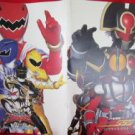Abaranger & Kamen Rider 555 the movie guide art book 2003 *