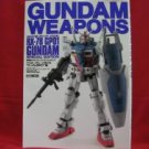 Gundam Weapons model kit book 'RX-78 GP01' Hobby Japan