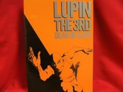 """Lupin the 3rd the movie """"DEAD or ALIVE"""" art book"""
