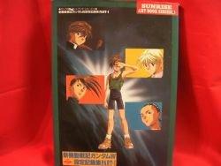 Gundam Wing W encyclopedia data art book w/poster #1