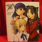 Fate Stay Night premium fan book w/poster,calendar