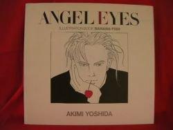 """Banana Fish """"Angel eyes"""" illustration art book / Akimi Yoshida"""