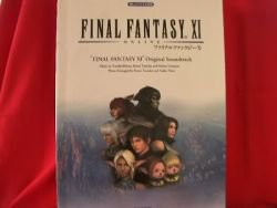 Final Fantasy XI 11 Piano Sheet Music Collection Book