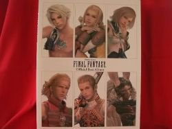 Final Fantasy Official Best Album 59 Piano Sheet Music Collection Book