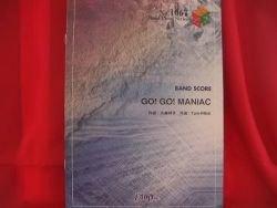 "K-on Keion ""Go Go MANIAC"" Band Score Sheet Music Book"