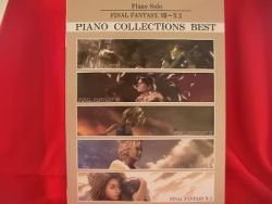 """Final Fantasy BEST (7 to X-2) """"High Rank"""" Piano Sheet Music Collection Book"""