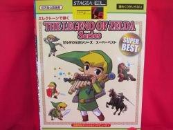 Nintendo Legend of Zelda series Electone Sheet Music Collection Book