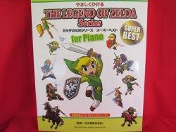 "Legend of Zelda 34 Piano Sheet Music Collection Book ""Beginner Rank"""