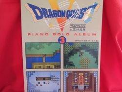 SQUARE-ENIX Dragon Warrior (Quest) V 5 Piano Sheet Music Collection Book / SNES