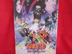 "Naruto #2 the Movie ""Ninja Clash in the Land of Snow"" art gude book"