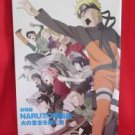 "Naruto the Movie ""Inheritors of the Will of Fire"" art gude book"