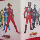 Hurricaneger & Kamen Masked Rider Ryuki the movie photo guide book