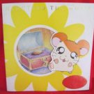 "Hamtaro the movie ""Hamu Hamu Land Daibouken"" art guide book w/card"