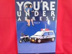 """You're Under Arrest """"FILE - X"""" illustration art book"""
