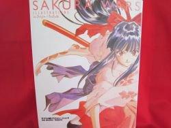 """Sakura Wars (Taisen) """"The origin + tribute"""" illustration art book"""