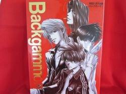 """Kazuya Minekura """"Backgammon #1"""" illustration art book"""