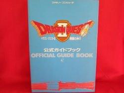 Dragon Warrior(Quest) II 2 official guide art book / NES