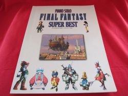 Final Fantasy (II,III,V,VI,VII,VIII,IX) 42 SUPER BEST Piano Sheet Music Collection Book