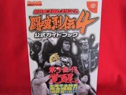 Toukon Retsuden 4 official strategy guide book/Dream cast, DC