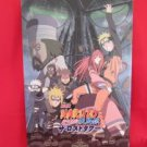"NARUTO the movie ""The Lost Tower"" art gude book"