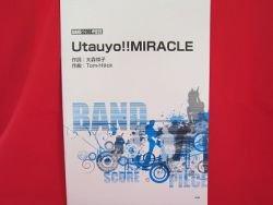 "K-On Keion """"Utauyo!! MIRACLE"""" Band Score Sheet Music Book"
