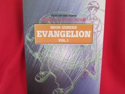 Evangelion 'BGM' Piano Sheet Music Book #1