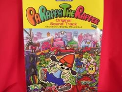 PaRappa the Rapper Soundtrack Piano Sheet Music Collection Book