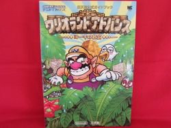 WARIO LAND 4 strategy guide book /GBA