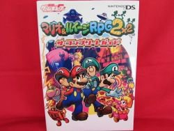 Mario and Luigi Partners in Time complete guide book DS