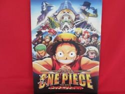 One Piece the movie 'THE DEAD END ADVENTURE' guide art book