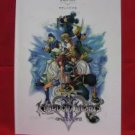 Kingdom Hearts II 2 Piano Sheet Music Collection Book *