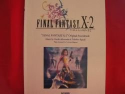 Final Fantasy X-2 Piano Sheet Music Collection Book *