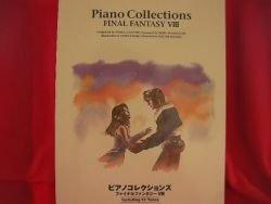 "Final Fantasy VIII 8 ""High rank"" Piano Sheet Music Collection Book *"